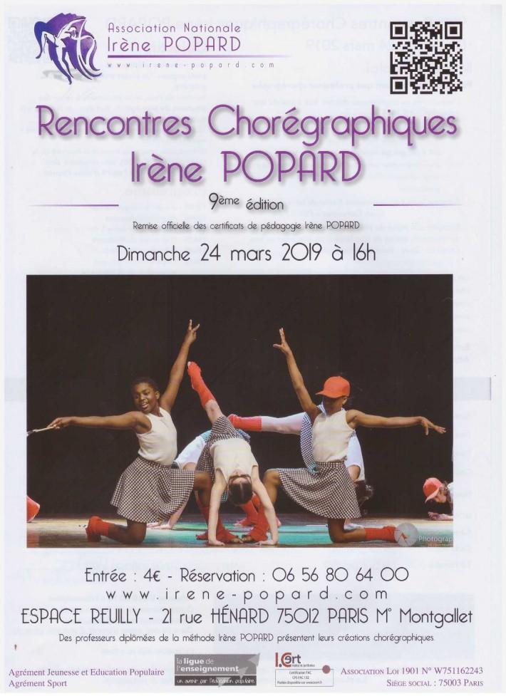 Rencontres Irène Popard 2019